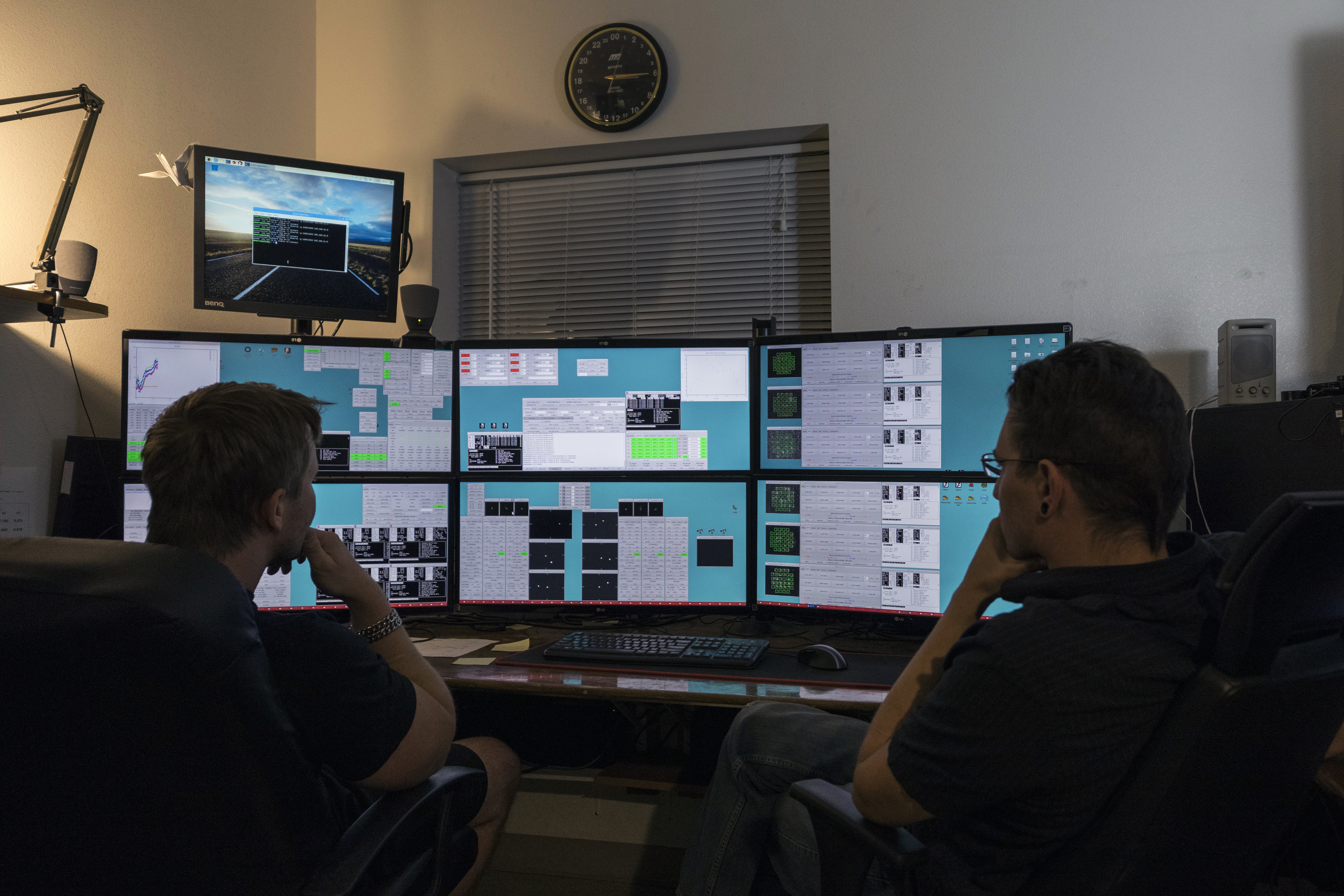 CHARA control room.